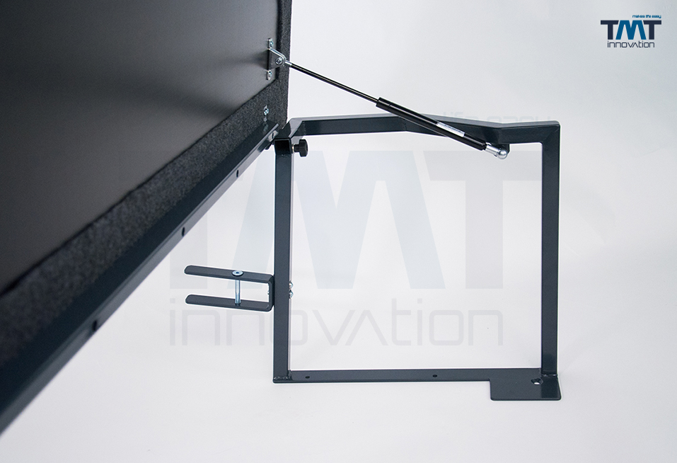 hochgeklapptes Multiflexboard im Detail