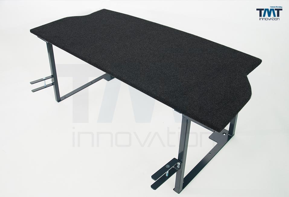 Multiflexboard von TMT innovation für Transporter/Caravelle mit Teppichbezug
