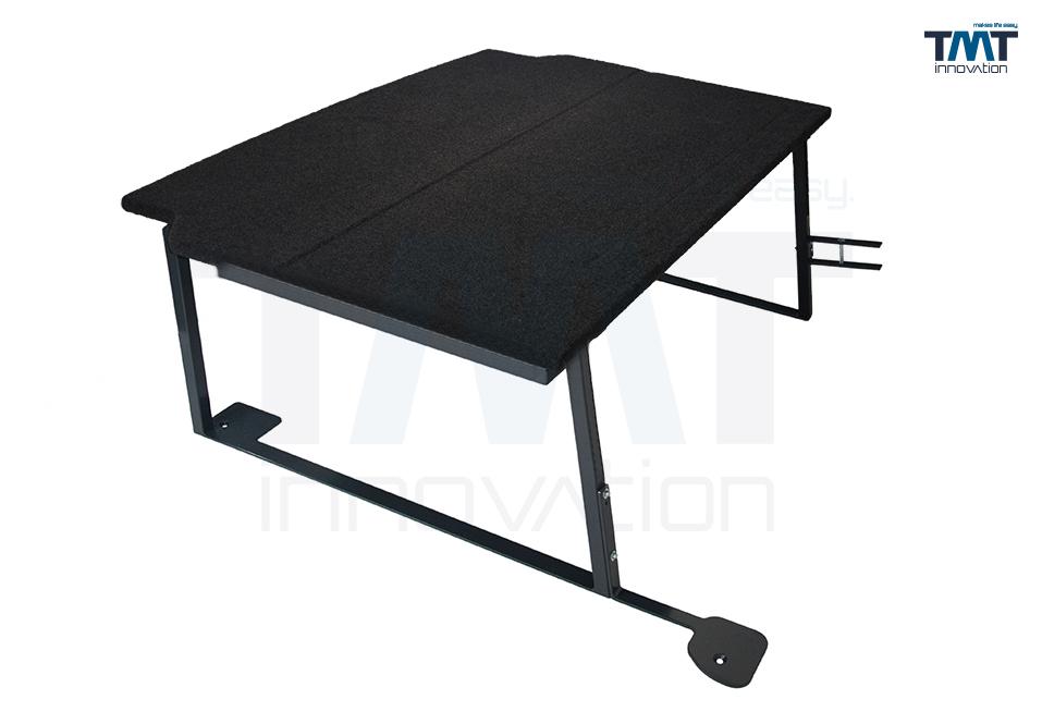 TMT Multiflexboard für VW Transporter/Caravelle mit Teppichbezug