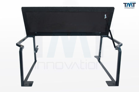 hochgeklapptes Multiflexboard für Transporter/Caravelle mit langem Radstand